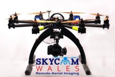 SkyCam Wales Octocopter